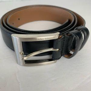 Allen Edmonds Dress Black Belt Size 46 39501